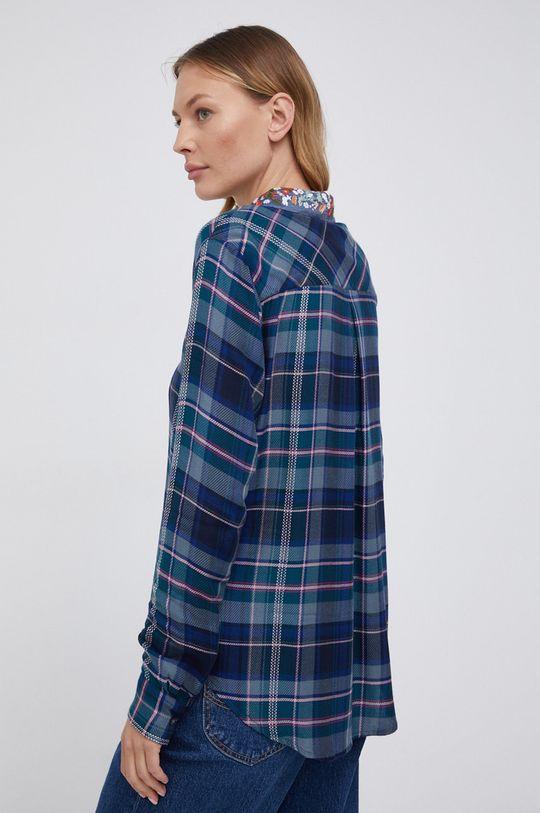 granatowy Desigual - Koszula