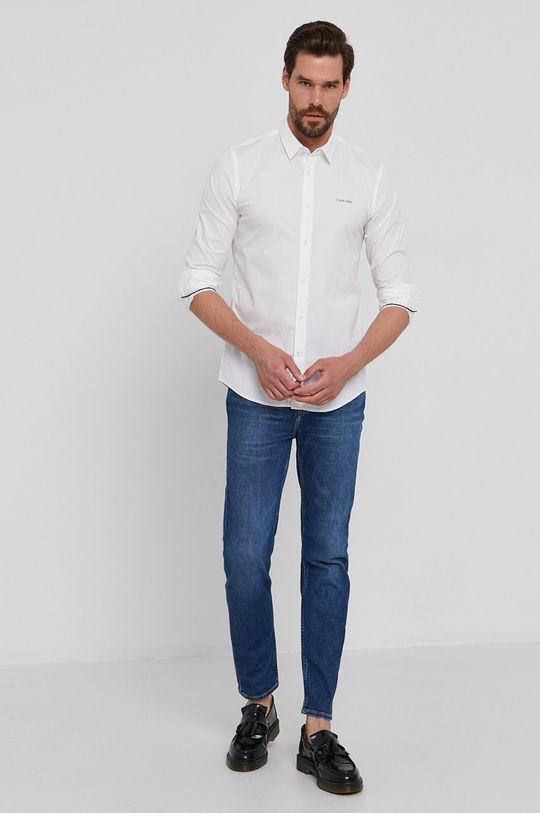 Calvin Klein - Košeľa  96% Bavlna, 4% Elastan