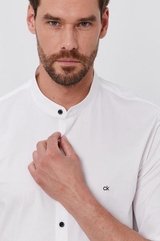 bílá Calvin Klein - Košile K10K107343.4890 Pánský