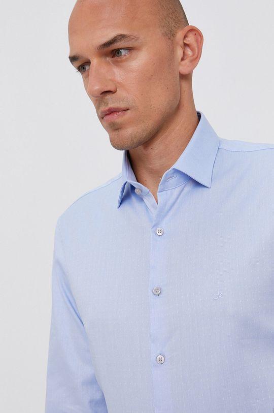 jasny niebieski Calvin Klein - Koszula Męski