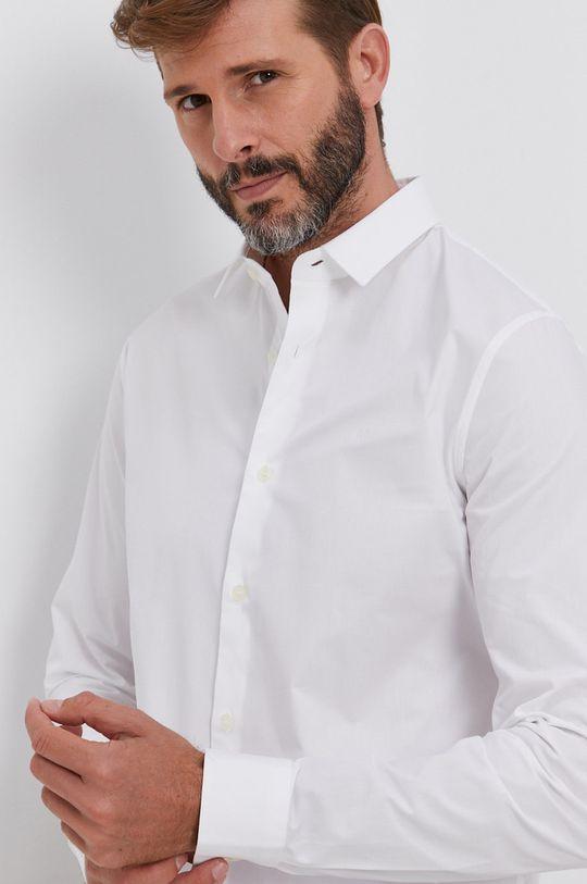 biały Calvin Klein Jeans - Koszula Męski