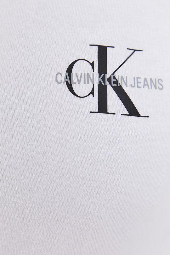 Calvin Klein Jeans - Koszula bawełniana biały