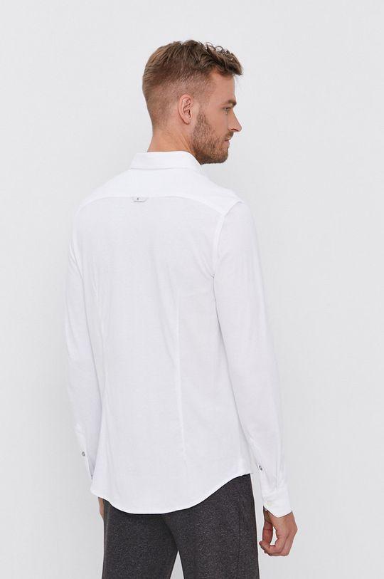biały Calvin Klein Jeans - Koszula bawełniana