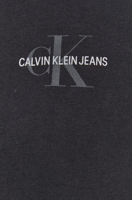 Calvin Klein Jeans - Koszula bawełniana czarny