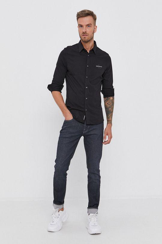 Calvin Klein Jeans - Koszula bawełniana 100 % Bawełna