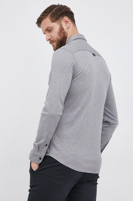 jasny szary Calvin Klein - Koszula bawełniana