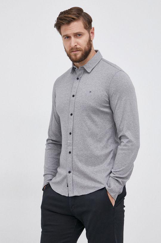 Calvin Klein - Koszula bawełniana Męski