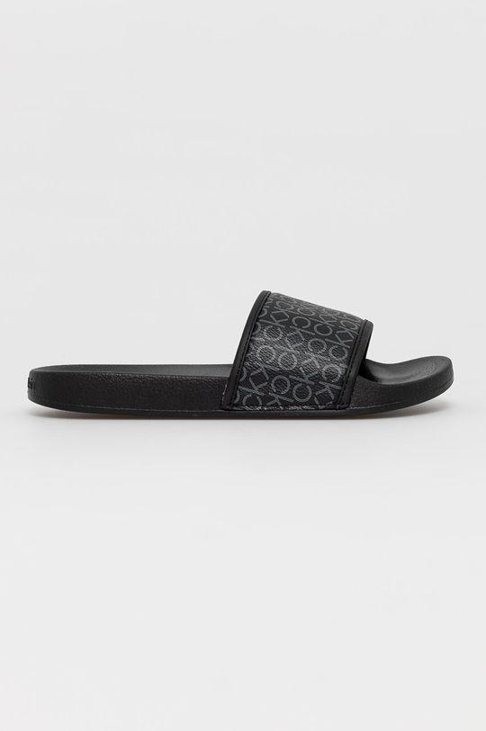 černá Calvin Klein Jeans - Pantofle Dámský