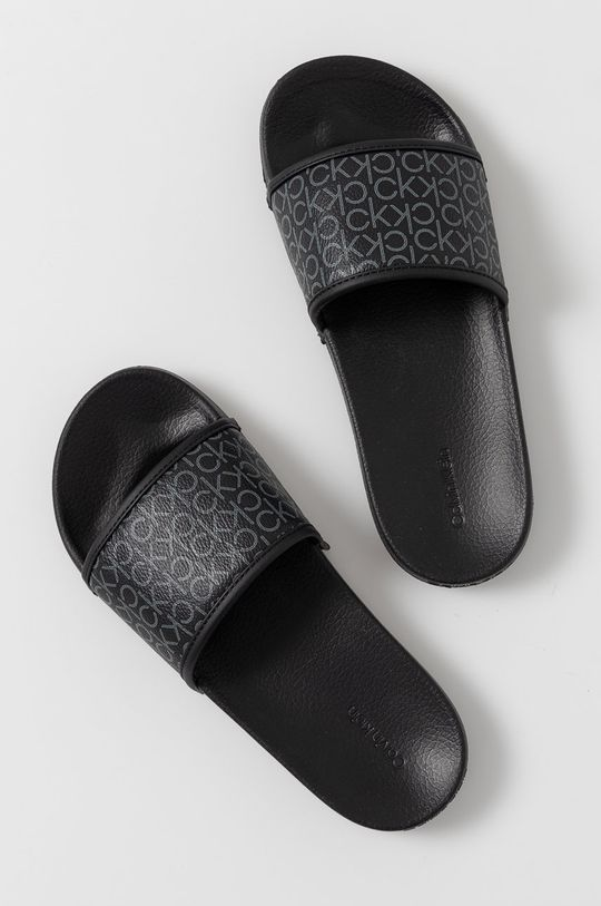 Calvin Klein Jeans - Pantofle černá