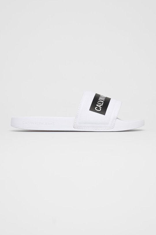 bílá Calvin Klein Jeans - Pantofle Dámský