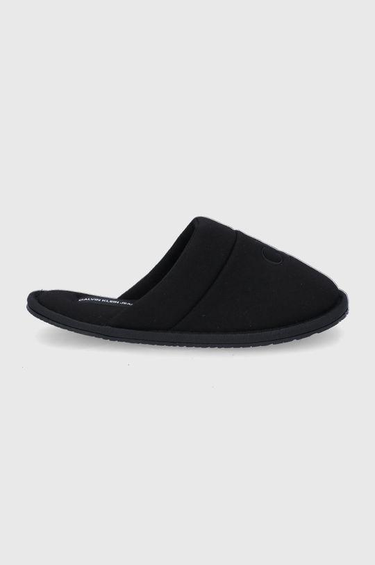 czarny Calvin Klein Jeans - Kapcie Damski