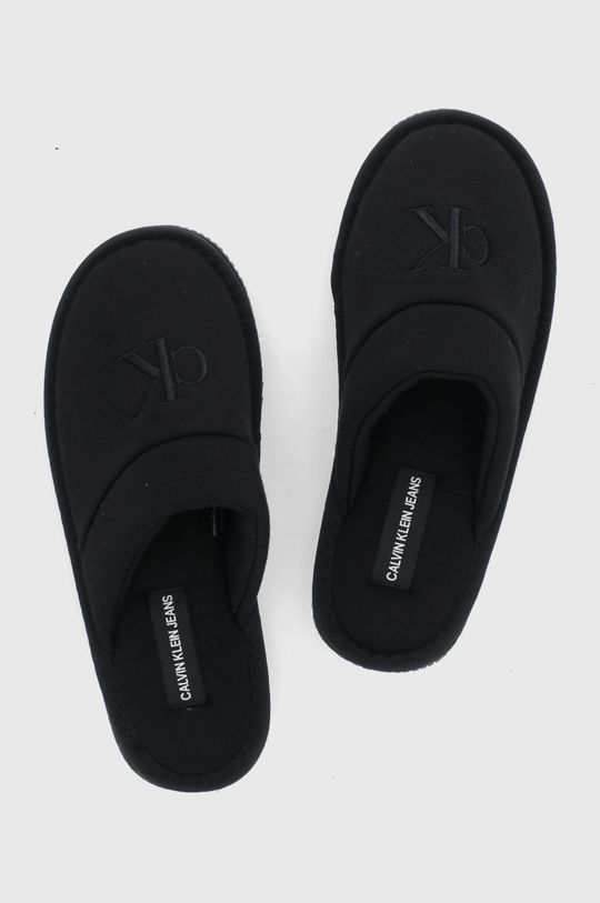 czarny Calvin Klein Jeans - Kapcie