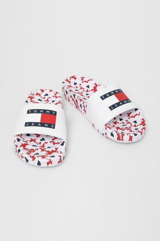 Tommy Jeans - Papucs fehér