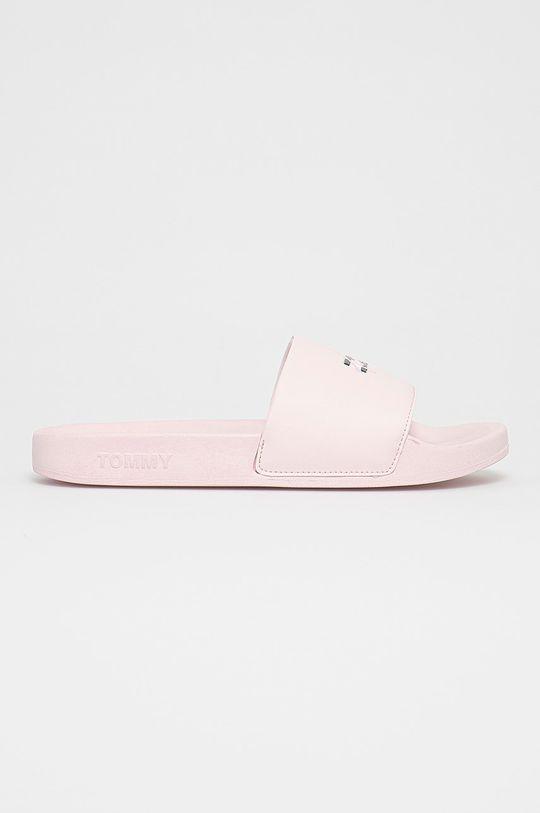 pastelowy różowy Tommy Jeans - Klapki Damski