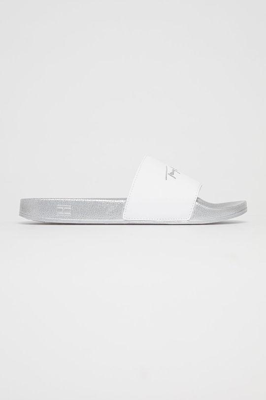 stříbrná Tommy Hilfiger - Pantofle Dámský