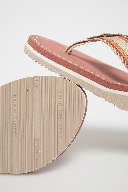 Tommy Hilfiger - Japonki Cholewka: Materiał tekstylny, Wnętrze: Materiał syntetyczny, Materiał tekstylny, Podeszwa: Materiał syntetyczny