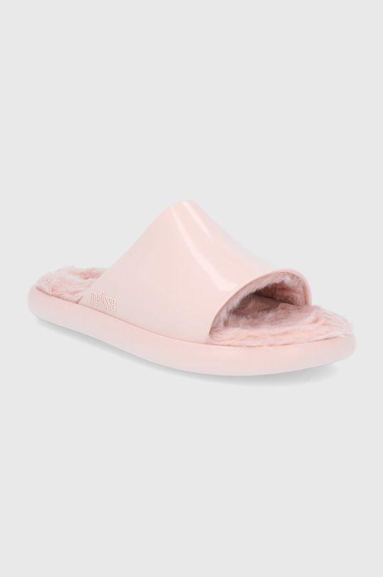 Melissa - Pantofle pastelově růžová