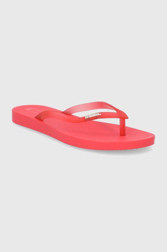 Melissa - Japonki Sun Flip Flop czerwony