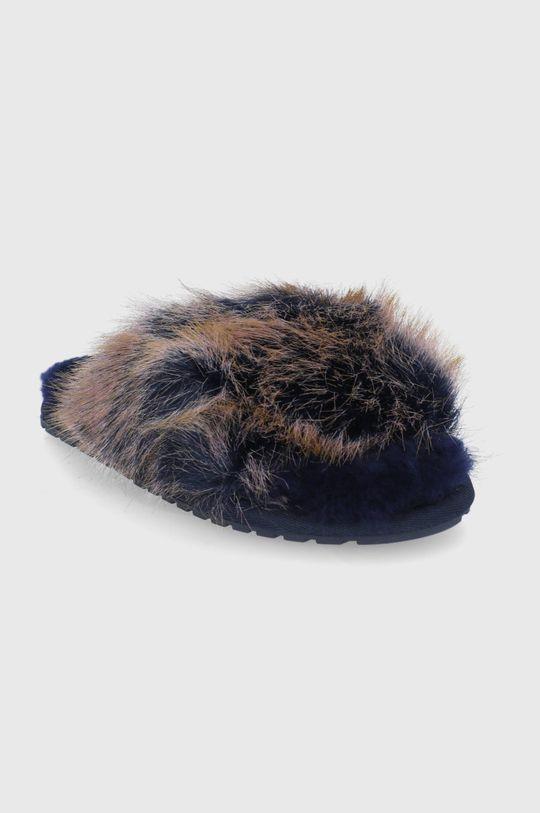 Emu Australia - Kapcie Mayberry Lava Cholewka: Materiał tekstylny, Wnętrze: Wełna, Podeszwa: Materiał syntetyczny