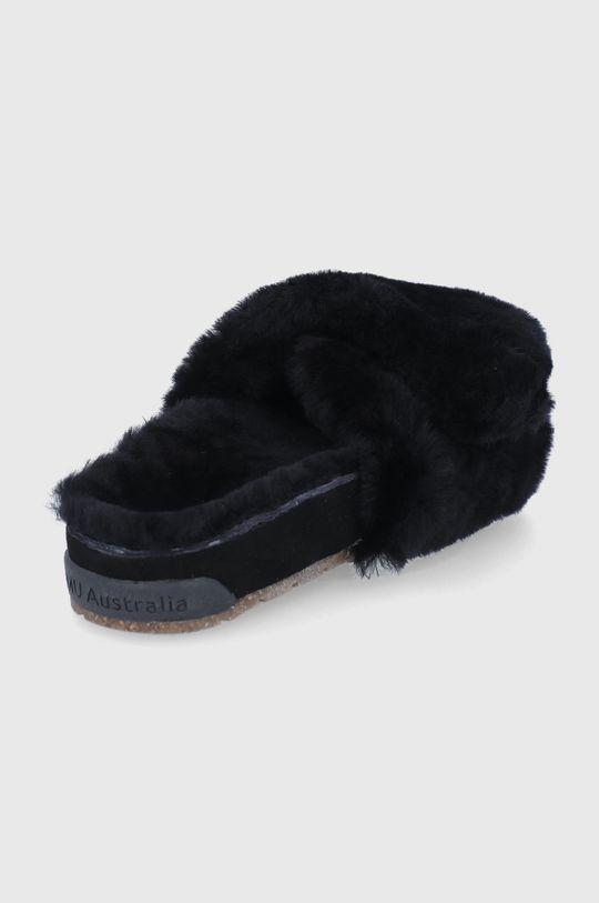 czarny Emu Australia - Kapcie wełniane Musica