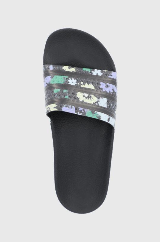 čierna adidas Originals - Šľapky Adilette