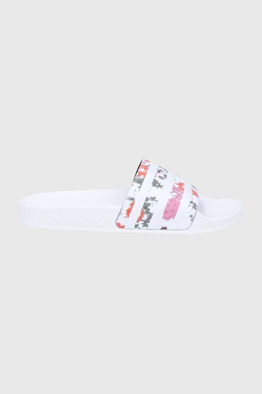 biały adidas Originals - Klapki Adilette Damski