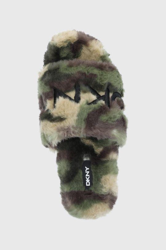militarny Dkny - Klapki
