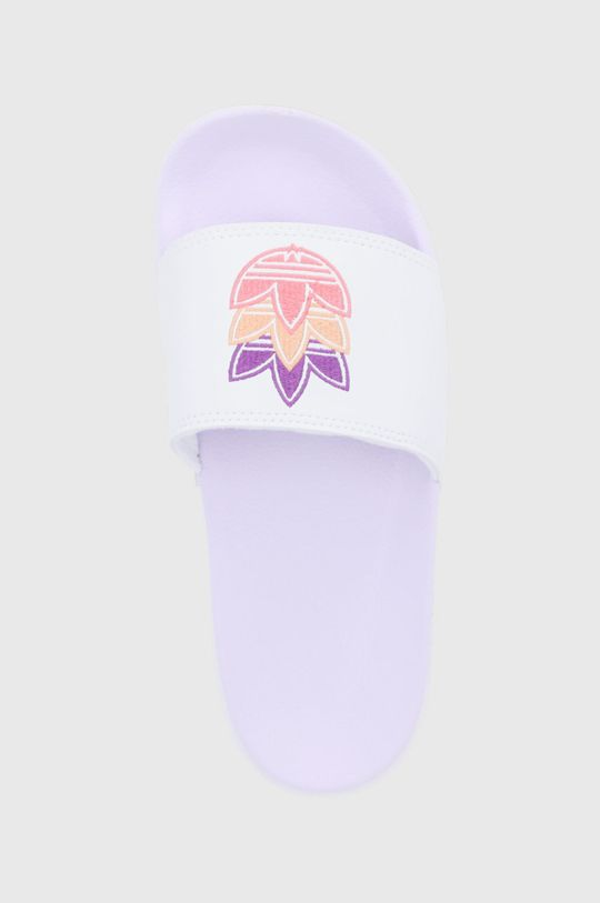 biały adidas Originals - Klapki Adilette