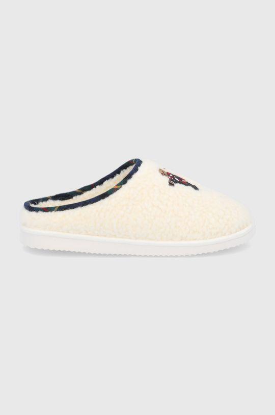 κρεμ Polo Ralph Lauren - Παντόφλες Γυναικεία