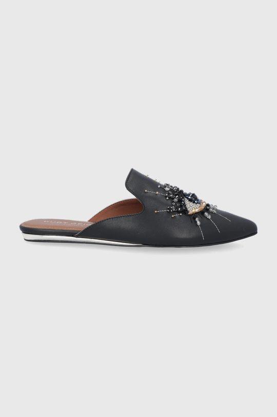 černá Kurt Geiger London - Kožené pantofle Dámský