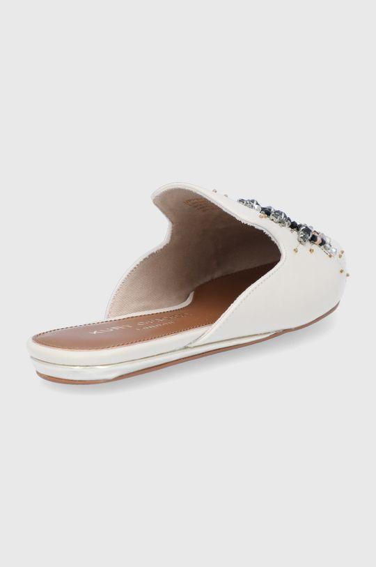 Kurt Geiger London - Kožené pantofle Olive Eye  Svršek: Přírodní kůže Vnitřek: Umělá hmota, Textilní materiál Podrážka: Umělá hmota