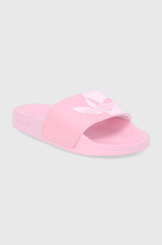 adidas Originals - Παντόφλες Adilette Lite παστέλ ροζ