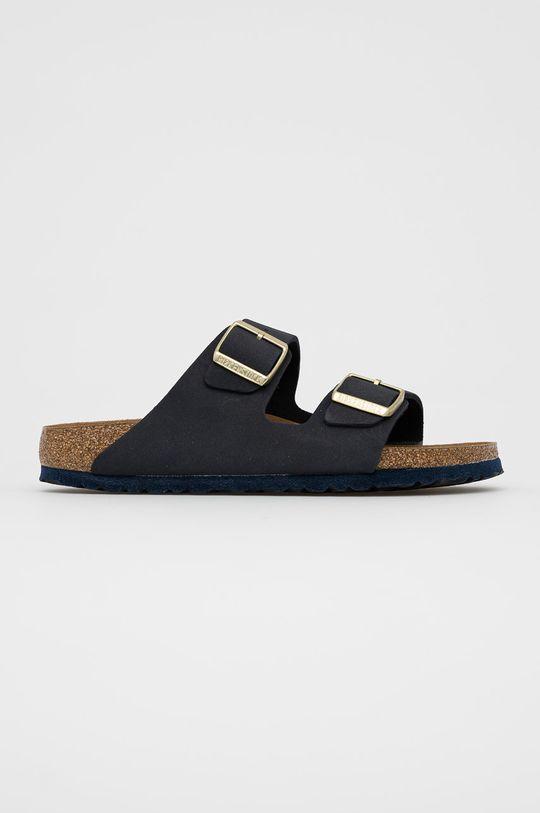 černá Birkenstock - Semišové pantofle Arizona Dámský