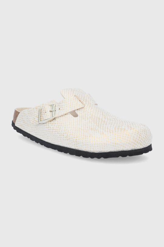 Birkenstock - Pantofle Boston zlatá