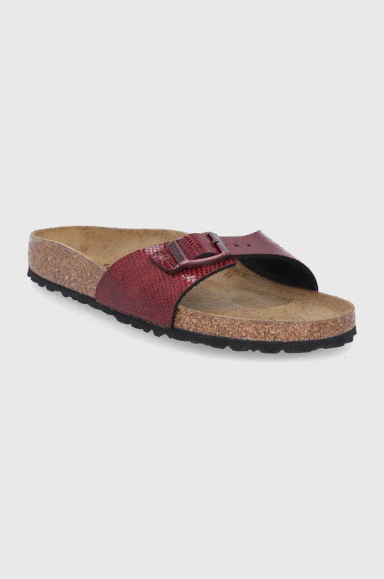Birkenstock - Pantofle Madrid mahagonová