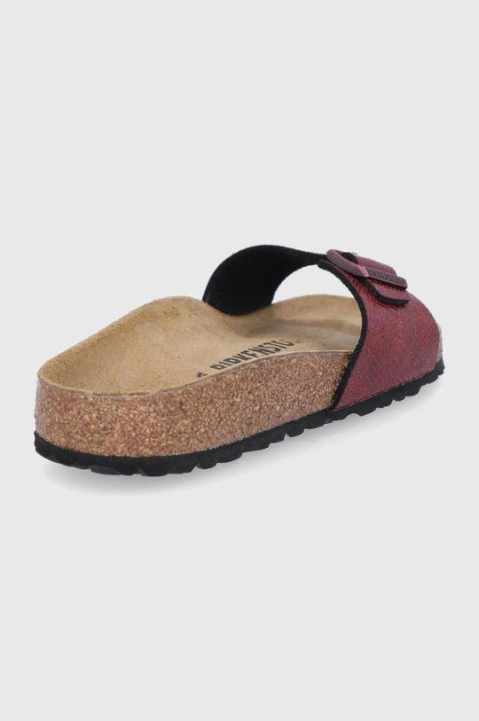 Birkenstock - Pantofle Madrid  Svršek: Umělá hmota Vnitřek: Textilní materiál, Semišová kůže Podrážka: Umělá hmota