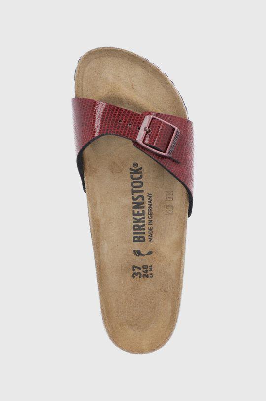 mahagonová Birkenstock - Pantofle Madrid
