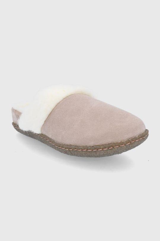 Sorel - Kapcie zamszowe Nakiska Slide II piaskowy