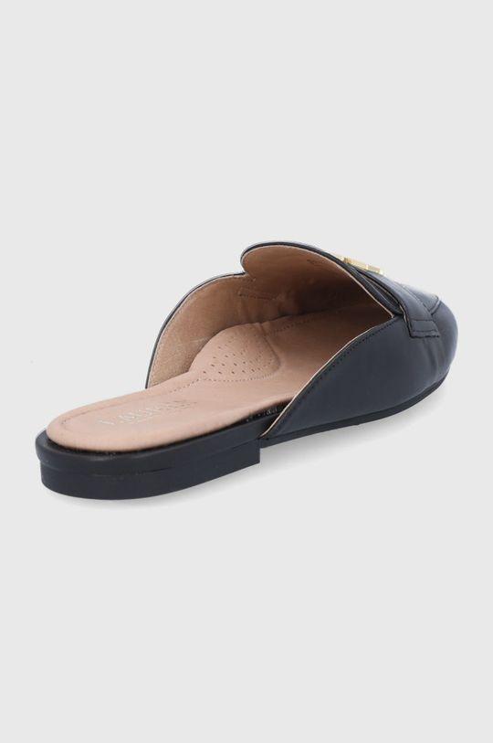 Lauren Ralph Lauren - Kožené pantofle Alli  Svršek: Přírodní kůže Vnitřek: Přírodní kůže Podrážka: Umělá hmota
