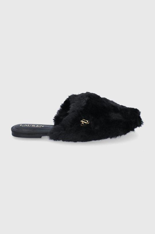 černá Lauren Ralph Lauren - Pantofle Dámský