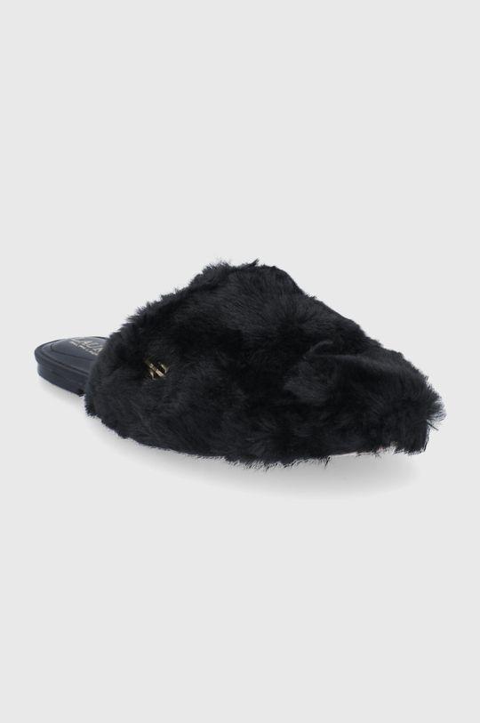 Lauren Ralph Lauren - Pantofle černá