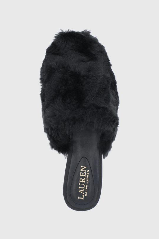 černá Lauren Ralph Lauren - Pantofle