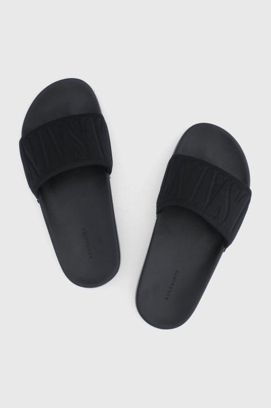 AllSaints - Šľapky čierna