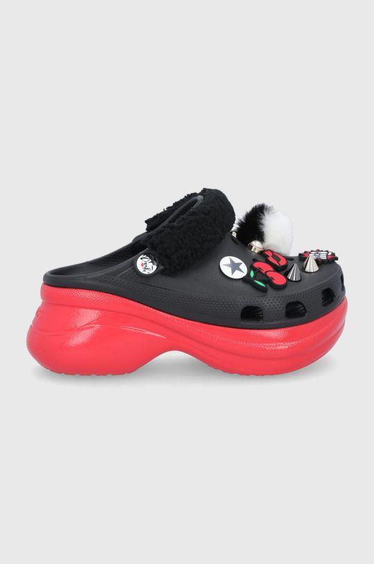 czarny Crocs - Klapki X Cruella Damski