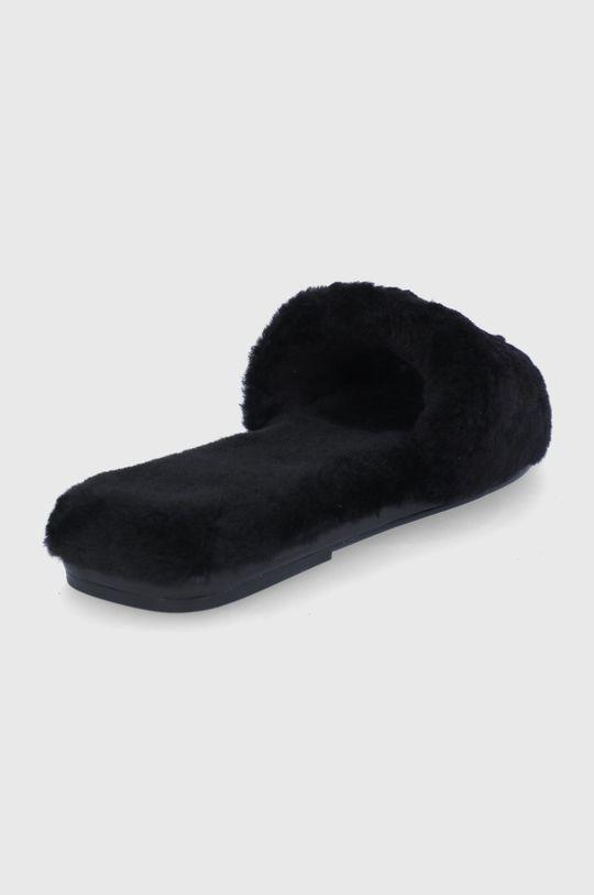 Tory Burch - Kožené papuče  Zvršok: Vlna Vnútro: Vlna Podrážka: Syntetická látka