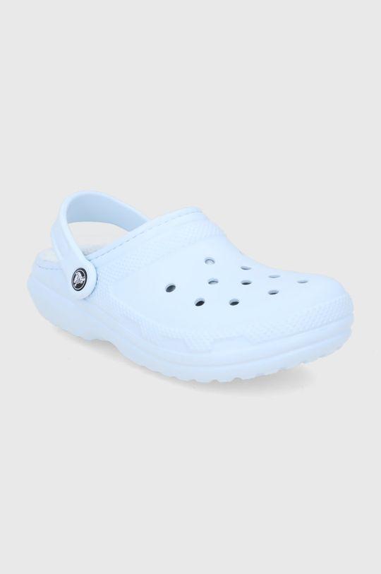 Crocs - Kapcie blady niebieski