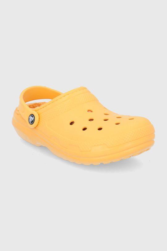 Crocs - Kapcie pomarańczowy