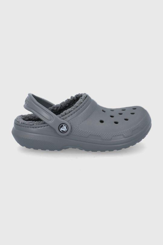 szary Crocs - Kapcie Damski