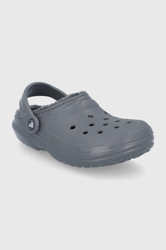 Crocs - Kapcie szary
