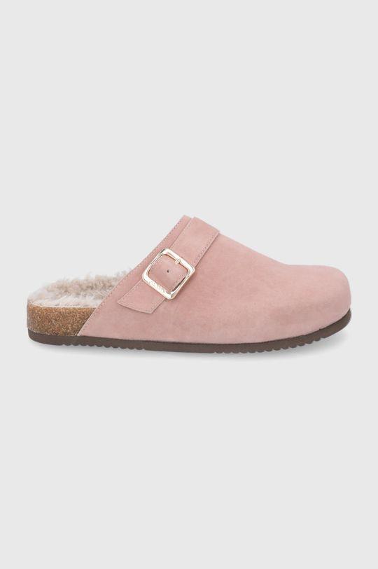 růžová Aldo - Semišové papuče WFH Dámský